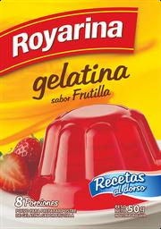 Gelatina de Frutilla Royarina 8 Porciones