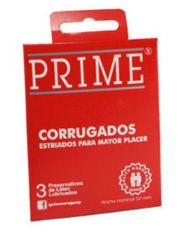 Preservativos Prime Corrugados