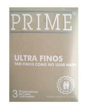Preservativos Prime Ultra Finos