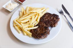 2 Burger al Plato