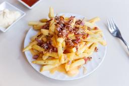 🍟 Papas Bacon & Cheddar