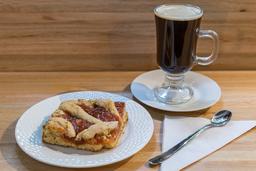 Café Intenso + Pasta Frola