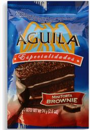 ALFAJOR AGUILA MINI TORTA BROWNIE 74 GRS.