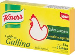 CALDO KNORR GALLINA 6 UN.