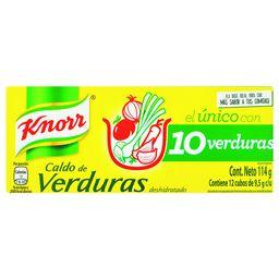 CALDO KNORR VERDURAS 12 UN.