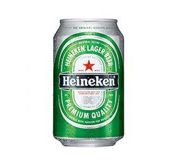 Cerveza Heineken Lata 354 Ml