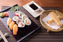 Combo - 10 Piezas de Sushi + 2 Unidades de Harumaki