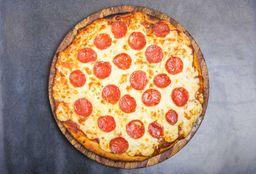 Pïzzeta Muzzarella con Pepperoni - 32 cm