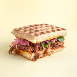 Waffle Pulled Pork