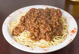 Spaghetti con Bolognesa
