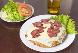 Tortilla con Muzza & Panceta