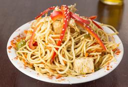 Spaguetti al Wok