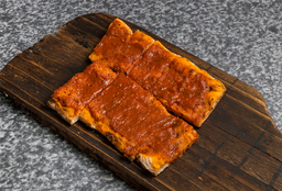 Porción de Pizza con Salsa