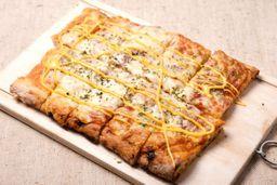 Pizza Muzzarella con Gustos
