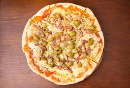 Pizzeta Individual con Salteado