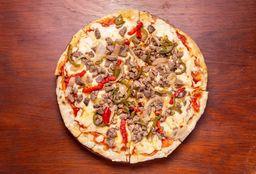 Pizzeta Familiar con Salteado