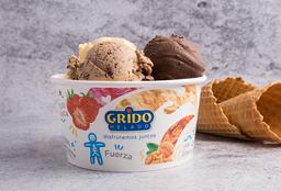 Pote de helado 1/2 kilo