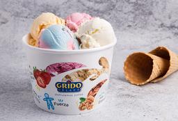 Pote de helado 1kilo