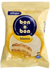 Alfajor Bon O Bon Blanco