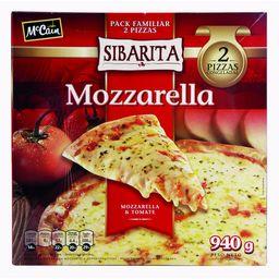 Pizza Sibarita Muzza.2 940G.