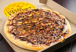 Pizzeta Mozzarella con Panceta y BBQ - 35 cm