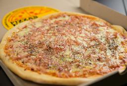 Pizzeta Mozzarella y Jamón - 35 cm