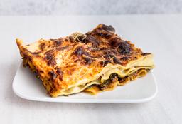 Lasagna de Espinaca y Carne