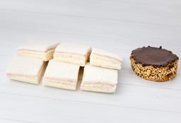 Combo 7 - Sandwiches Mixtos + Alfajor