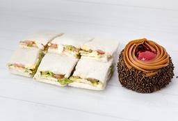 Combo 8 - Sandwiches Olímpicos + Alfajor