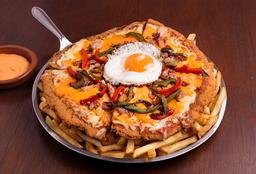 Milanesa Mega Pizza