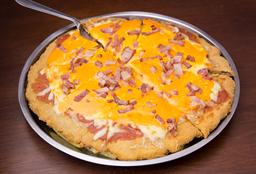 Milanesa Mini Mega Pizza