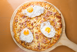 Pizzeta Bacon Egg - 42 cm