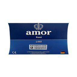 Amor Preservativo Standard Azul X12