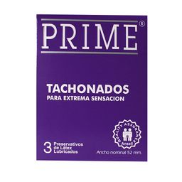 Prime Preservativo Tachonado X3