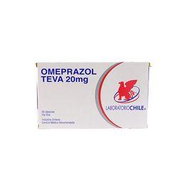 Omeprazol Teva 20 Mg 30 Capsulas