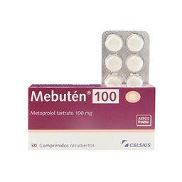 Mebuten 100 Mg 30 Comprimidos