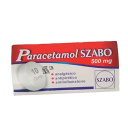 Paracetamol Szabo 10 Comprimidos