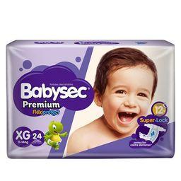 Babysec Pañal Premium Extra Grande X24