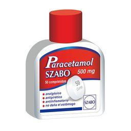 Paracetamol Szabo 50 Comprimidos