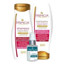 Primicia Shampoo+Balsamo Repar.+Puntas