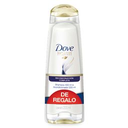 Dove Shampoo Recon.Completa 400+Ac.200Ml