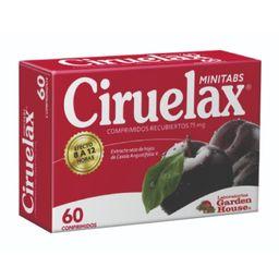Ciruelax Minitabletas X 60