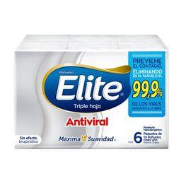Elite Pañuelos X6 Antivirales