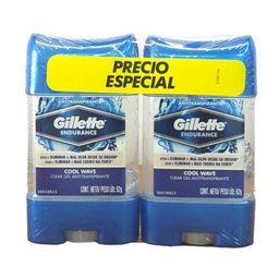 Gillette Clear Gel Cool Wave X2