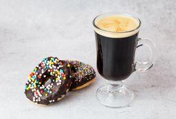 Café con 2 Donas