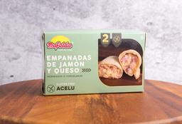 Empanadas de Jamón y Queso sin Gluten x 2