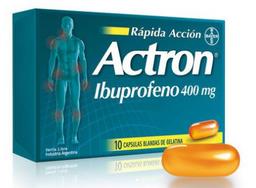 Actron 400 Mg 10 Cap