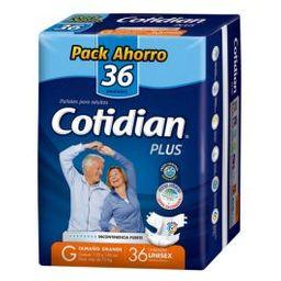 Cotidian Plus G/36 Pañales