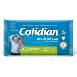 Cotidian Toall.Hum.Xg X40