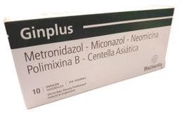 Ginplus Ovulos X 10